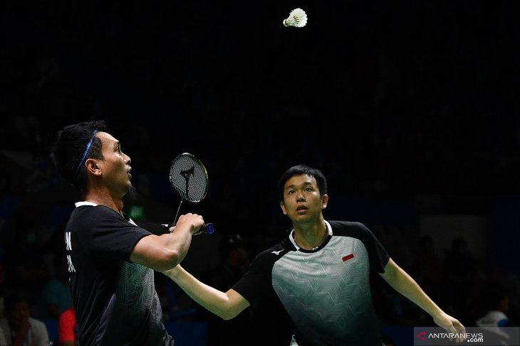 Hendra/Ahsan lolos ke semifinal Indonesia Open setelah taklukkan Endo/Yuta