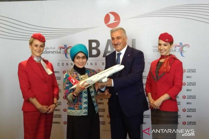 Turkish Airlines harapkan rute Istanbul-Bali tingkatkan wisatawan