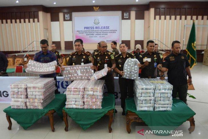 Kejati Aceh sita uang PT Perikanan Nusantara Rp36,2  miliar