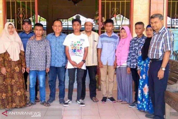 LBH Al Amin berangkatkan empat yatim sekolah di SMK Penerbangan