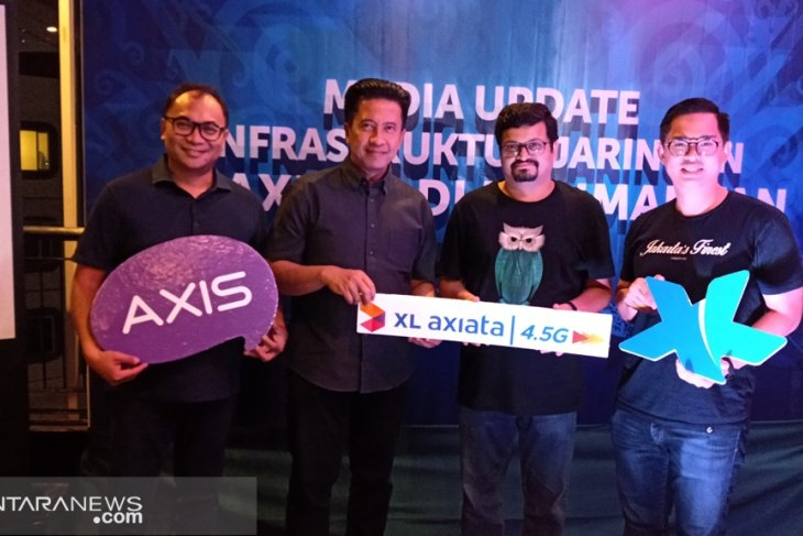 XL axiata klaim jangkau 96 persen populasi Kalimantan