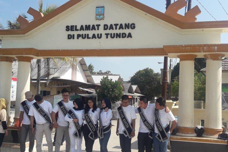 Dispar Banten kirim duta wisata  telusuri potensi Pulau Tunda
