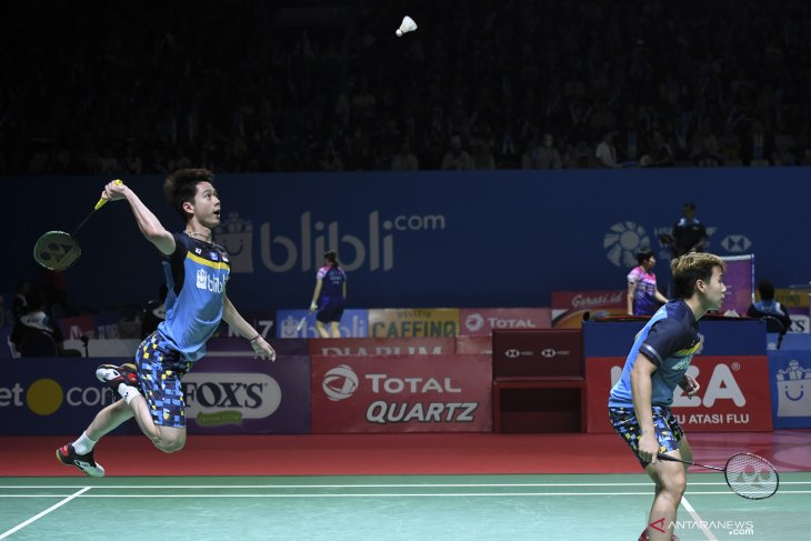 Kevin/Marcus tantang unggulan ketiga China  di semifinal Indonesia Open