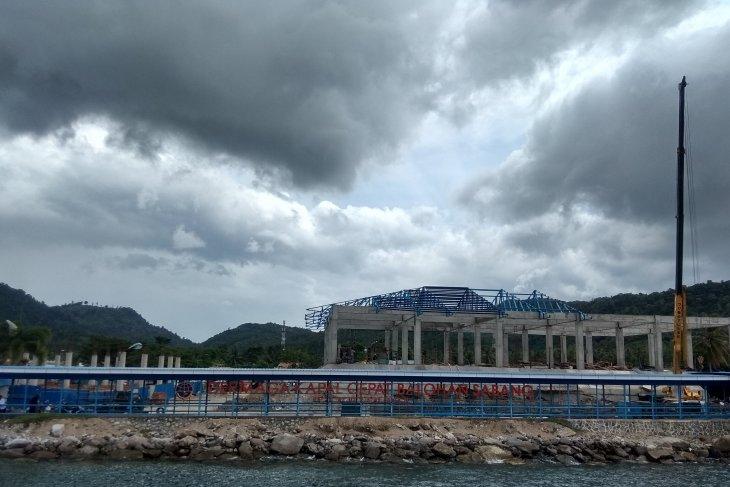 Ini dia capaian pembangunan pelabuhan Balohan Sabang