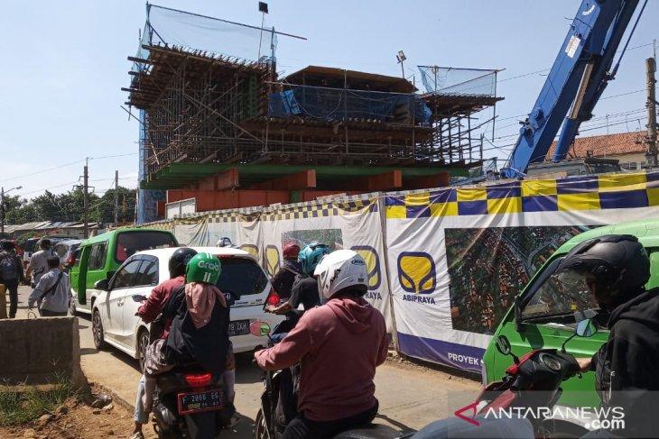 Pembangunan jalan layang RE Marthadinata di Bogor ada kendala ini
