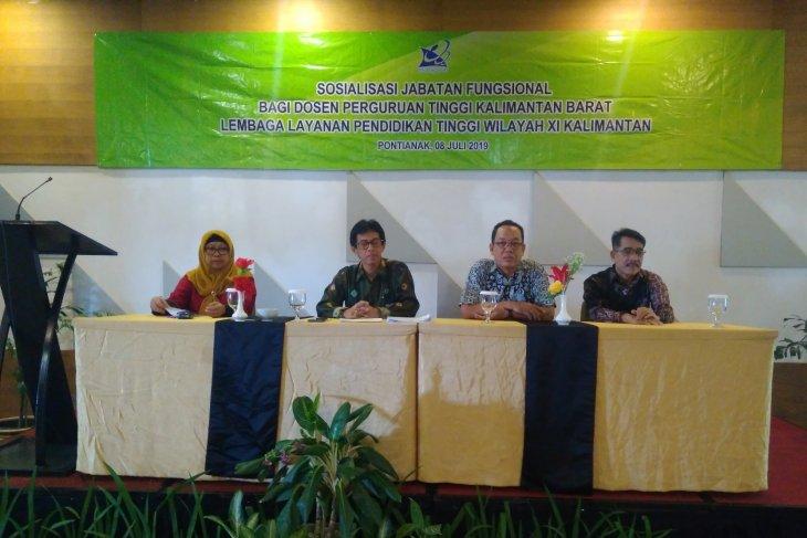 LLDIKTI Wilayah XI  tingkatkan profesionalisme dosen Kalimantan