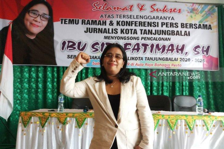 Siti Fatimah menyatakan maju Pilkada Tanjungbalai 2020