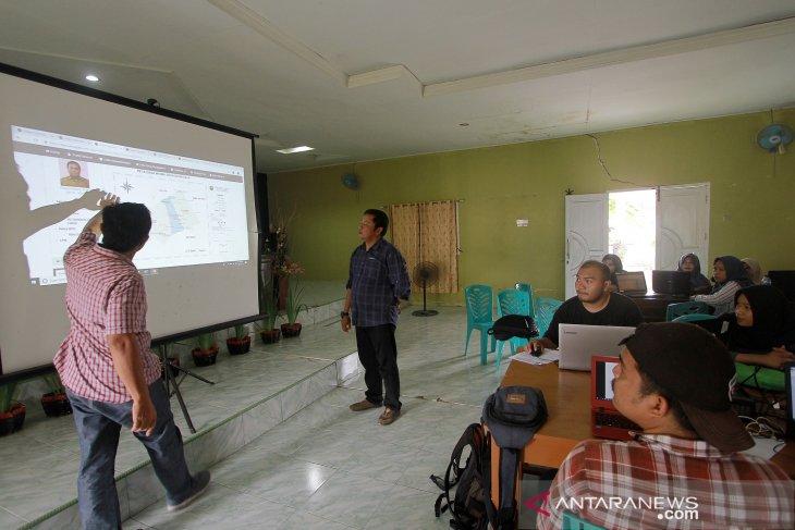 Dunggala jadi desa digital berkat bantuan mahasiswa KKN