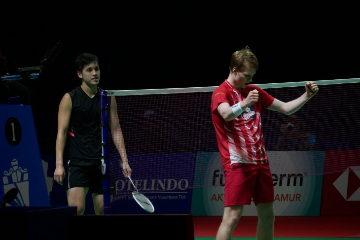 Anders Antonsen wakili Denmark ke final Indoneia Open