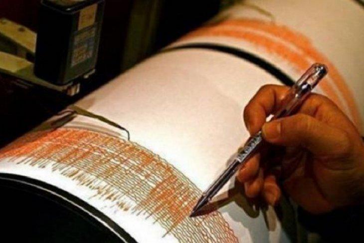 Gempa magnitudo 5,3  guncang Laut Maluku
