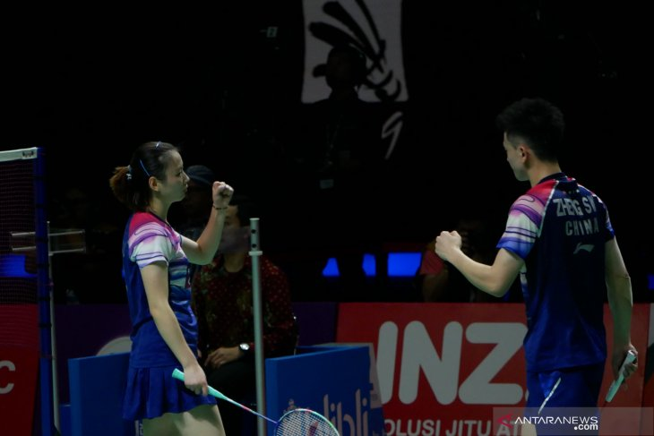 China pastikan gelar ganda campuran Indonesia Open