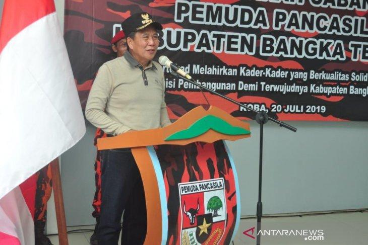 Bupati Bangka Tengah harapkan PP terapkan nilai luhur Pancasila