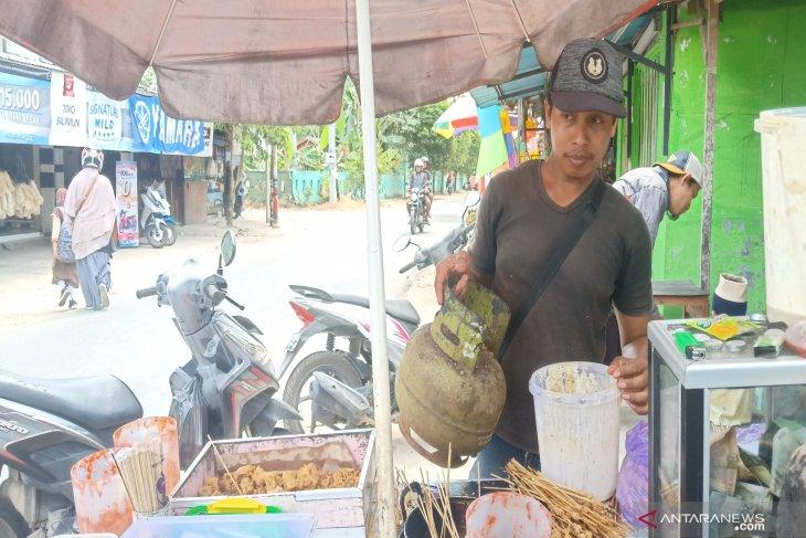Pedagang kecil keluhkan harga LPG 3 Kg yang mahal
