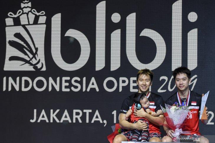 Kevin/Marcus masih yang terbaik di Indonesia Open 2019