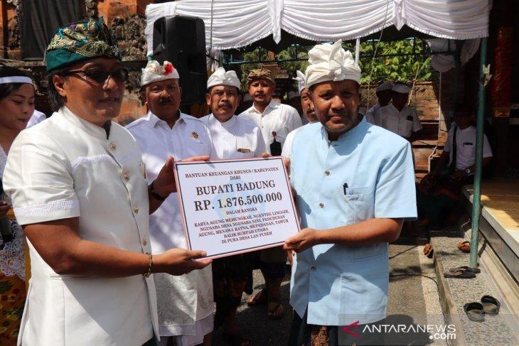 Pemkab Badung bantu Rp1,8 miliar untuk upacara adat