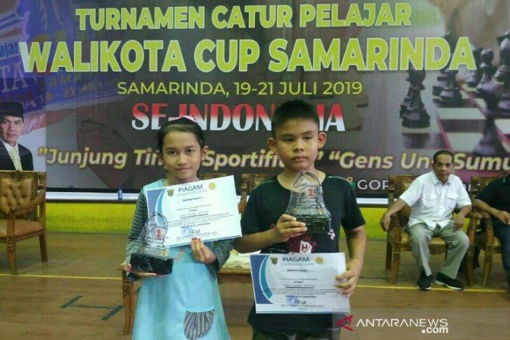 Dua pecatur cilik HSU raih dua emas di Samarinda Cup