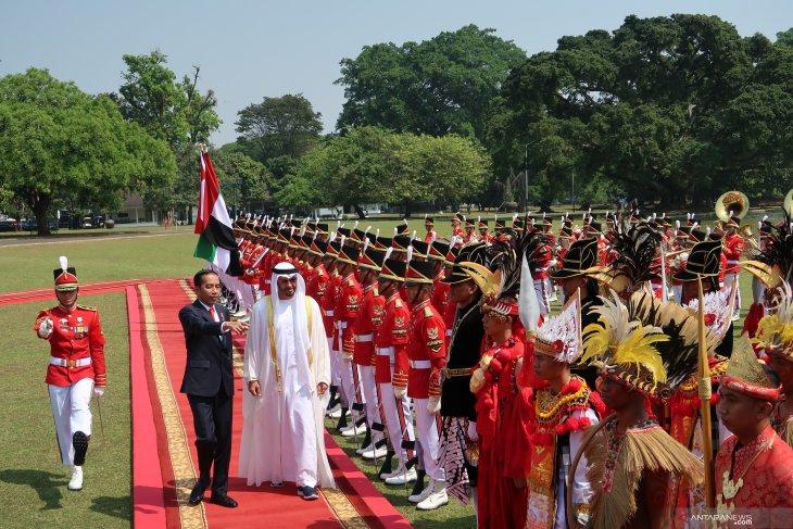 Putra Mahkota Abu Dhabi kunjungi Istana Kepresidenan Bogor
