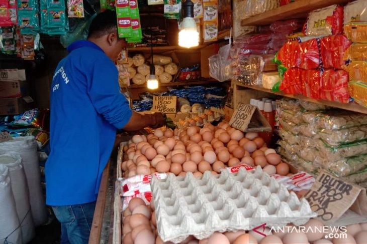 Harga telur ayam ras di Piru stabil