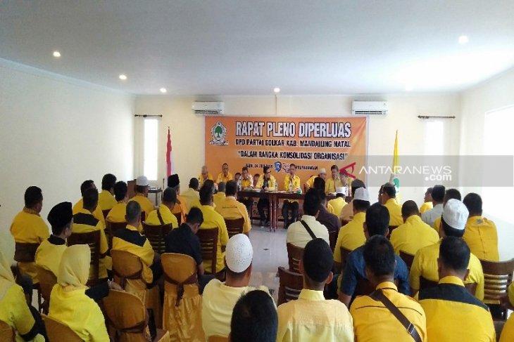 Golkar urutan ketiga suara terbanyak pada Pemilu 2019 di Madina