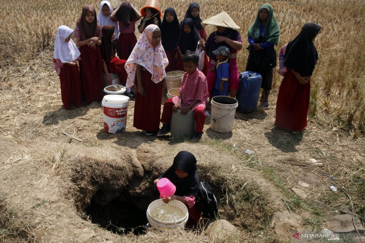 Drought affecting 20 districts, towns in West Java