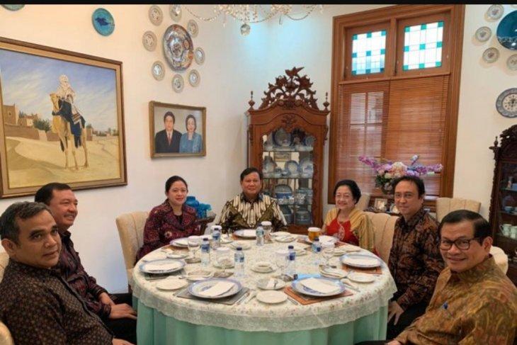 Megawati-Prabowo diskusikan persatuan bangsa pasca-Pemilu 2019
