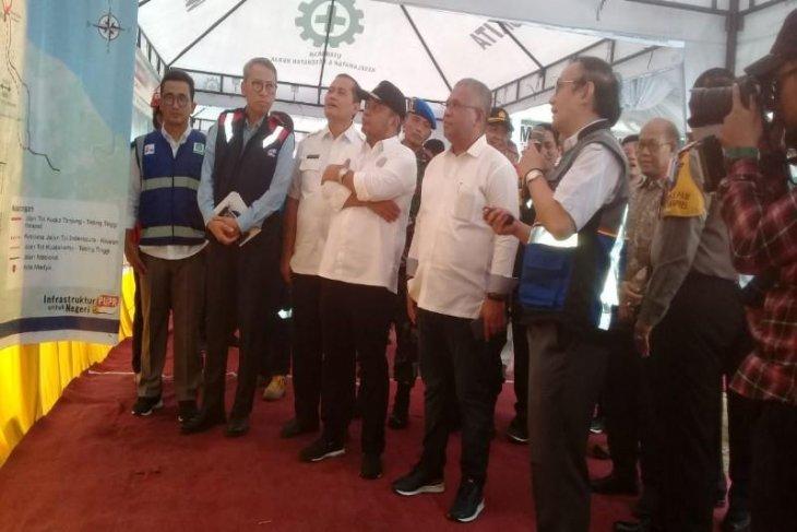 PT. Humawas doa bersama dimulainya pembangunan tol ruas Tebing Tinggi - Serbelawan