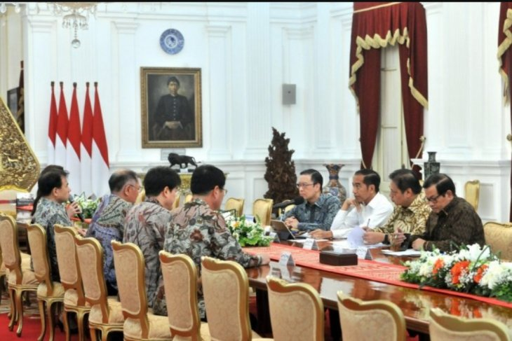 Presiden Jokowi didampingi Menperin bahas Investasi Hyundai di Indonesia