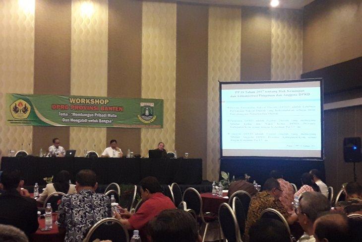Seluruh anggota DPRD Banten  memperoleh uang jasa pengabdian