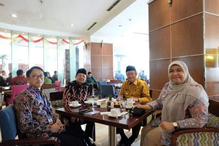 Bupati Masnah hadiri Rakor Nasional Tim Pengendalian Inflasi Daerah