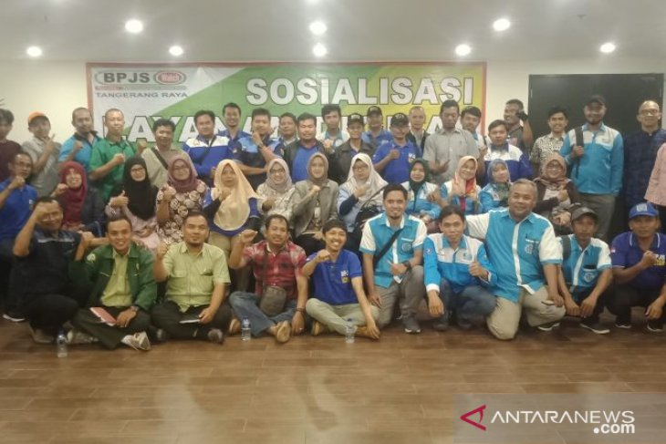 BPJS Watch Tangerang Raya  sosialisasi layanan digital BPJS-TK