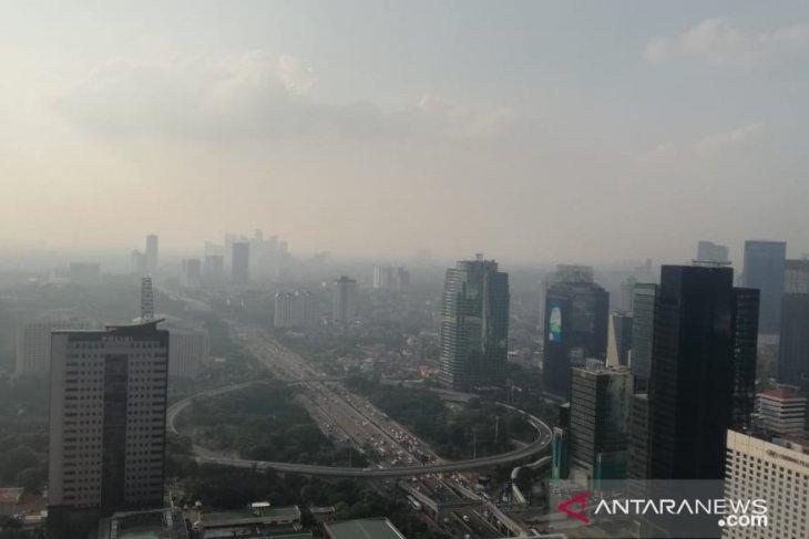 Tingginya tingkat polusi di Jakarta