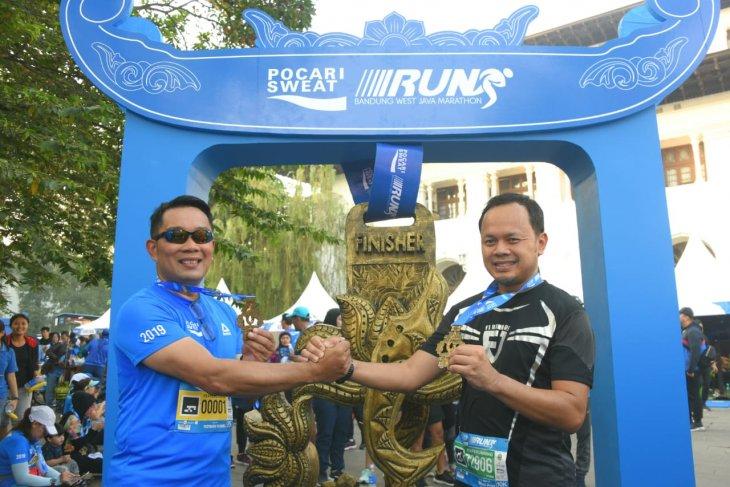 Ridwan Kamil Ikuti Lari 5K Bandung West Java Marathon
