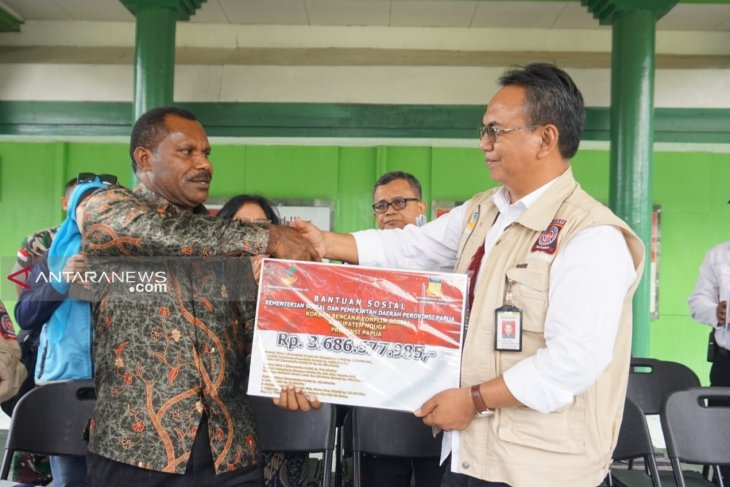 Ministry channels Rp3.7 billion for Nduga conflict victims