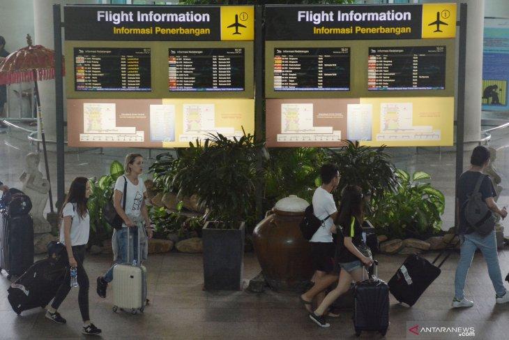 Januari-Juni 2019, Bandara Ngurah Rai layani 2,9 juta wisman