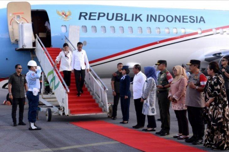 Presiden Jokowi kunjungan kerja ke Sumut