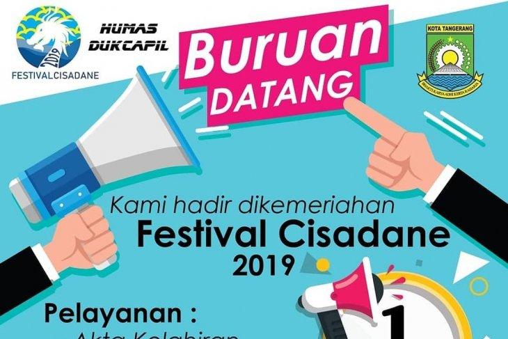 Disdukcapil Kota Tangerang buka layanan sehari jadi di Festival Cisadane
