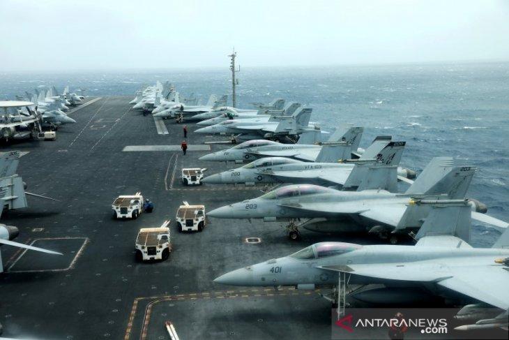 Kapal perang - pesawat tempur dari 54 negara mendarat di Belitung