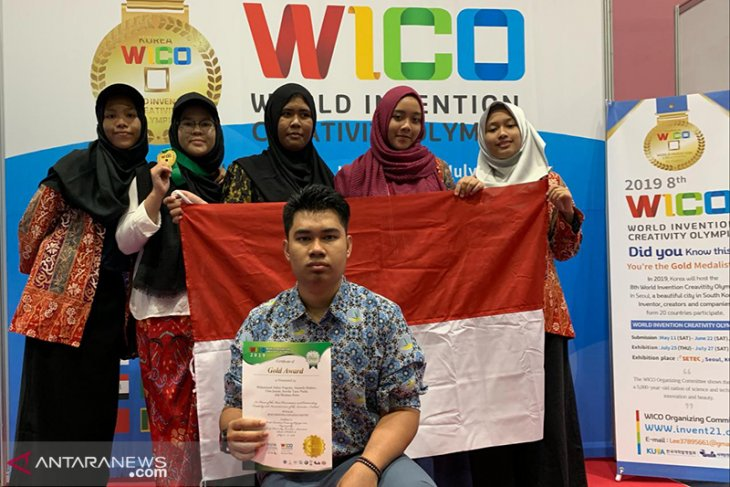 Zamlarini putri Gubernur Bengkulu juarai Olimpiade Kreativitas di Korea Selatan