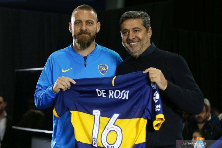 De Rossi segera lakukan debut di  Boca Juniors