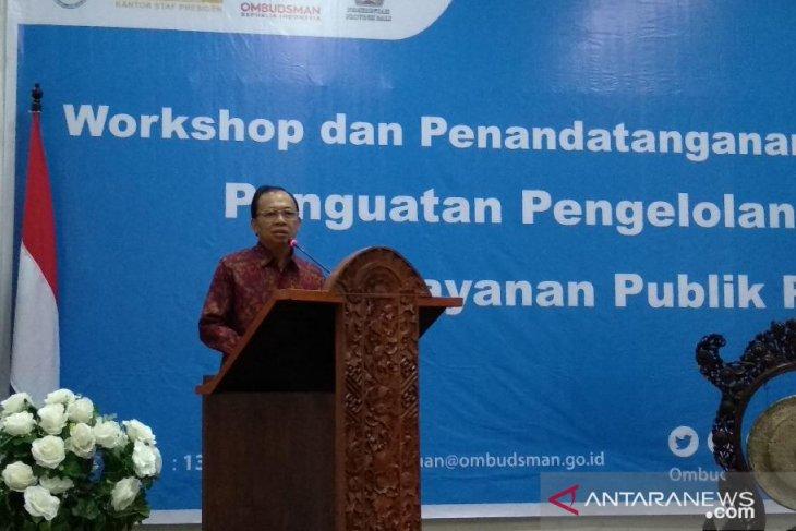Gubernur minta sistem pengaduan pelayanan publik terpadu se-Bali