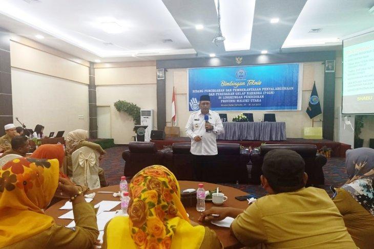 BNNP Malut latih 30 guru di Ternate jadi pegiat anti narkoba