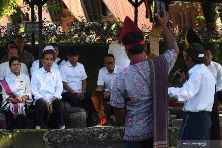 Presiden kunjungi Kampung Penegakan Hukum Siallagan (video)