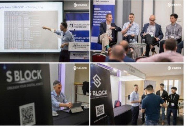 S BLOCK at APAC Blockchain Conference 2019, Sydney, Australia