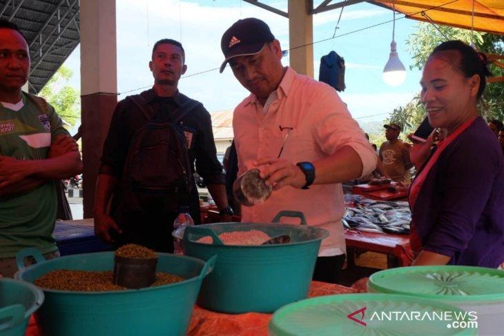 Pendapatan pedagang Pasar Sore Oluhuta capai jutaan rupiah