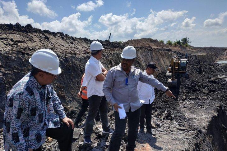 KPK menemukan aktivitas tambang ilegal di perkebunan sawit Kalsel
