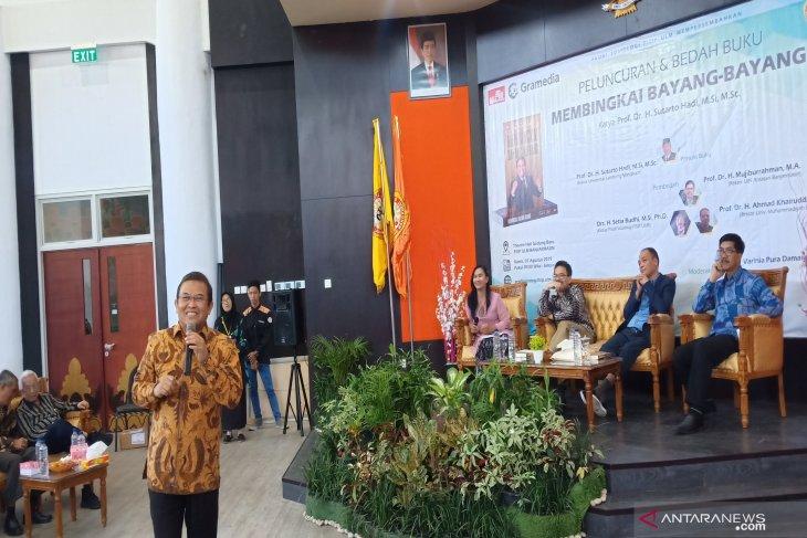 Prof Sutarto tularkan inspirasi lewat buku