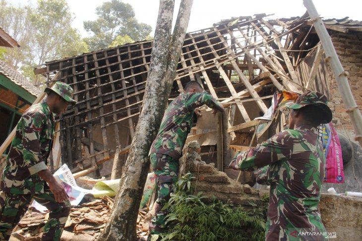 BNPB sebutkan 223 rumah rusak akibat gempa Banten