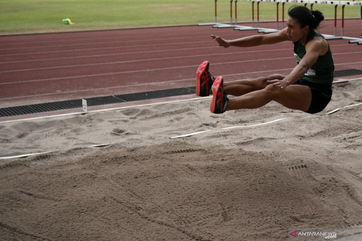 Jatim masih memimpin perolehan medali kejurnas atletik