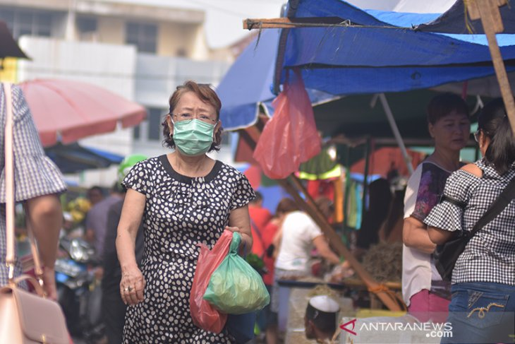 Haze-induced visibility impairment in Pekanbaru reaches two kilometers