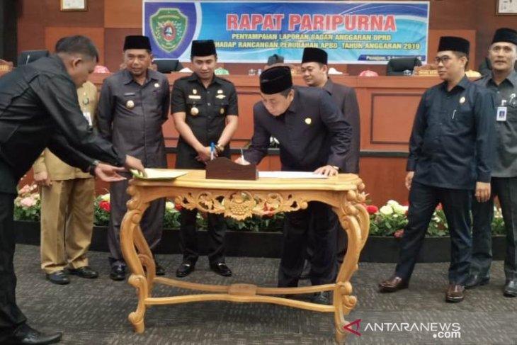 DPRD Penajam sahkan APBD-P Rp1,59 triliun